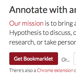 Get started with web annotation – Climate Feedback